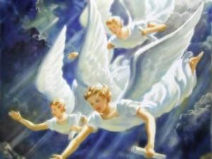 I tre angeli di apocalisse 14